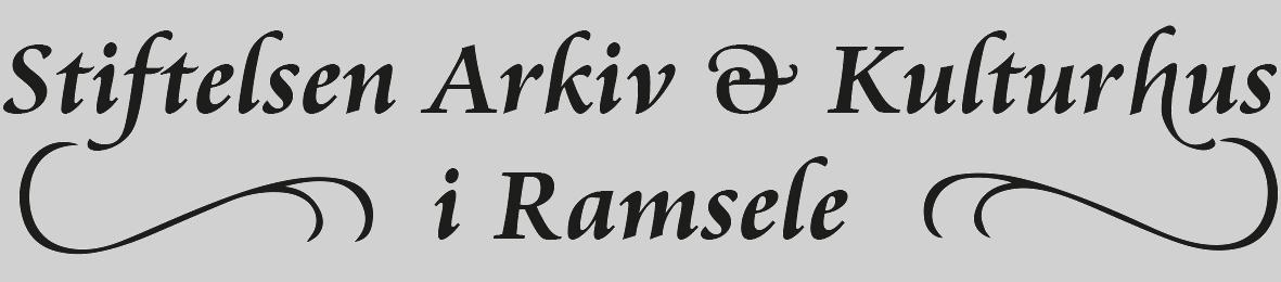 Stiftelsen Arkiv & Kulturhus i Ramsele